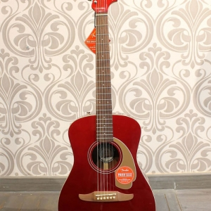 Guitarra Electroacústica Fender Malibu Candy Apple Red