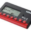 KORG Metronomo digital MA-2 black red