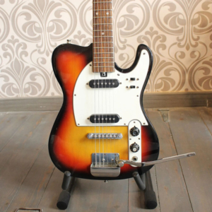 Guitarra Electrica Teisco Zenta 70s Tobacco Sunburst